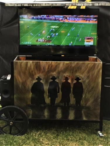 CR Portable TV Unit